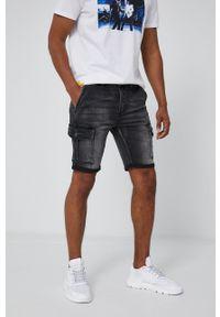 medicine - Medicine - Szorty jeansowe Summer Heat. Okazja: na co dzień. Kolor: szary. Materiał: jeans. Styl: casual