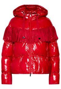 Czerwona kurtka puchowa Pinko