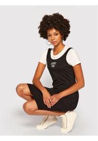 Czarna sukienka DKNY Sport sportowa, sportowa