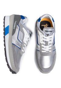 Szare sneakersy Togoshi z cholewką