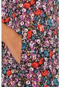 Wielokolorowa sukienka Answear Lab midi, na co dzień, z długim rękawem