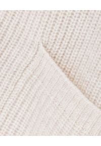 HEMISPHERE - Beżowy sweter z kaszmirem. Kolor: beżowy. Materiał: kaszmir. Sezon: jesień, zima