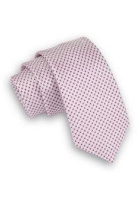 Różowy krawat Alties elegancki