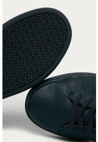 Niebieskie sneakersy TOMMY HILFIGER z cholewką, na sznurówki