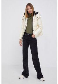 Calvin Klein Jeans - Kurtka. Kolor: beżowy. Materiał: poliamid