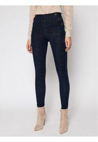 Guess Jeansy Slim Fit Ultra Curve W1RA56 D4AK2 Granatowy Slim Fit. Kolor: niebieski