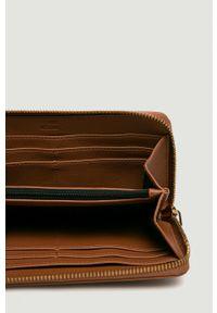 Brązowy portfel Love Moschino
