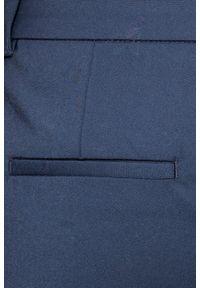 Niebieskie spodnie materiałowe Vero Moda gładkie
