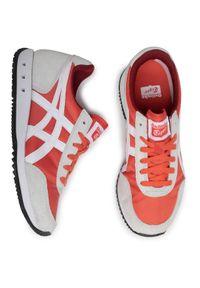 Pomarańczowe buty sportowe Onitsuka Tiger z cholewką