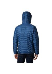 Niebieska kurtka turystyczna columbia