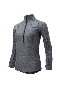 Bluza sportowa New Balance długa, ze stojącym kołnierzykiem