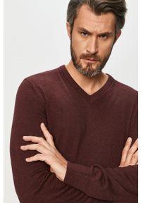 Brązowy sweter GAP casualowy, z długim rękawem, na co dzień