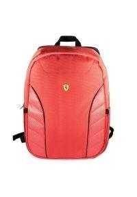 Czerwony plecak na laptopa Ferrari