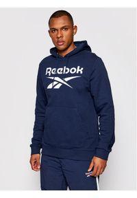 Reebok Bluza Identity Big Logo GQ3538 Granatowy Regular Fit. Kolor: niebieski