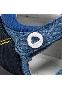 Mayoral - Sandały MAYORAL - 41.306 Jeans 41. Kolor: niebieski. Materiał: materiał. Sezon: lato. Styl: klasyczny #2