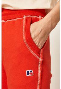 Czerwone spodnie dresowe Russell Athletic