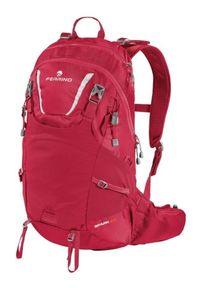 Czerwony plecak Ferrino w paski