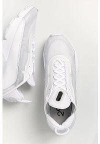 Białe sneakersy Nike Sportswear z cholewką, na sznurówki, Nike Air Max