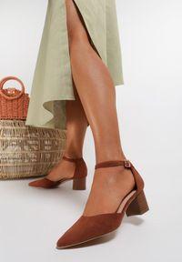 Brązowe sandały Renee