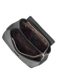 Czarny plecak Wittchen w ażurowe wzory