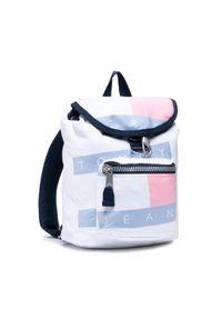 Tommy Jeans Plecak Tjw Heritage Flag Backpack AW0AW10166 Biały. Kolor: biały