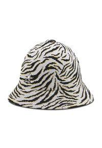 Kangol Kapelusz Bucket Carnival Casual K3411 Biały. Kolor: biały. Styl: casual