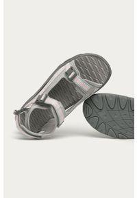 Szare sandały Kappa na rzepy
