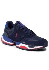 Polo Ralph Lauren Sneakersy Polo Jgr Pp 809829841003 Granatowy. Kolor: niebieski