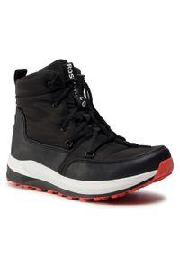 Czarne buty zimowe Rossignol