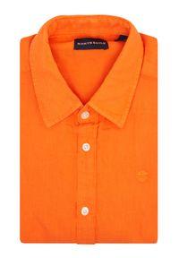 North Sails Koszula L/S Point Collar 663595 Pomarańczowy Regular Fit. Kolor: pomarańczowy