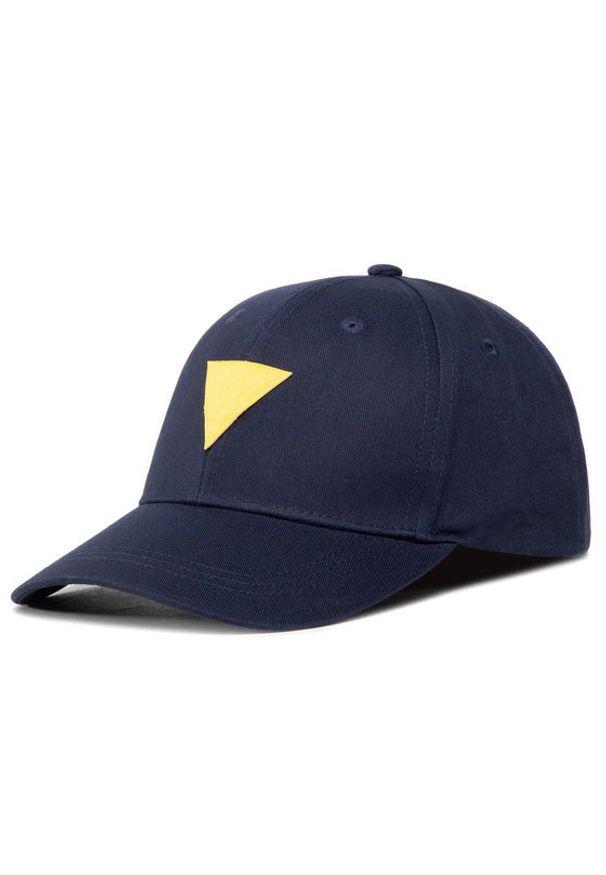 Niebieska czapka z daszkiem Guess