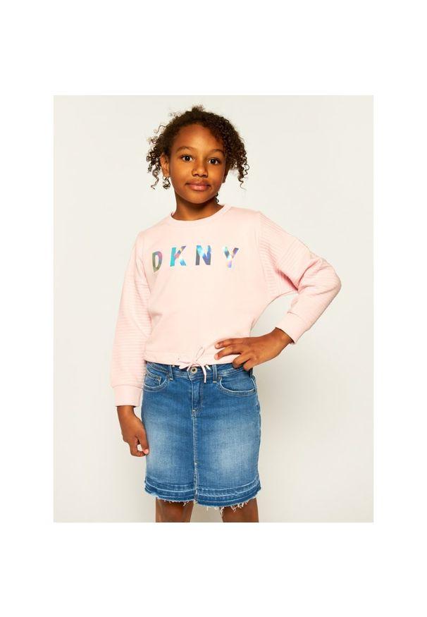 Różowa bluza DKNY