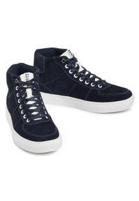 Big-Star - Sneakersy BIG STAR - GG174313 Navy. Kolor: niebieski. Materiał: zamsz, skóra. Szerokość cholewki: normalna