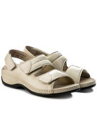 Beżowe sandały Berkemann