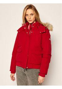 Czerwona kurtka zimowa Tommy Jeans