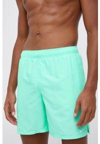 Nike - Szorty kąpielowe. Kolor: zielony