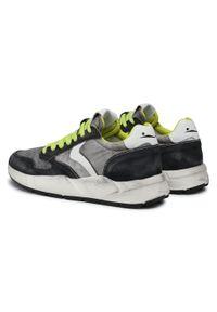 Voile Blanche - Sneakersy VOILE BLANCHE - Arpolh Easy 0012015694.02.1A01 Black/Anthracite. Okazja: na co dzień. Kolor: szary. Materiał: skóra ekologiczna, materiał, zamsz. Szerokość cholewki: normalna. Styl: sportowy, klasyczny, casual