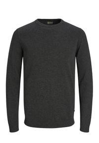 Jack & Jones - Jack&Jones Sweter Basic 12137190 Szary Regular Fit. Kolor: szary #8