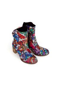 Botki Zapato na klamry, wąskie, klasyczne