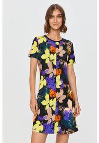 Wielokolorowa sukienka Desigual na co dzień, mini, z krótkim rękawem