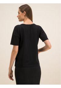 Czarny t-shirt Laurèl