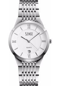 Srebrny zegarek klasyczny