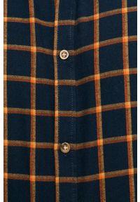 Niebieska koszula Tailored & Originals na co dzień, casualowa, długa, button down
