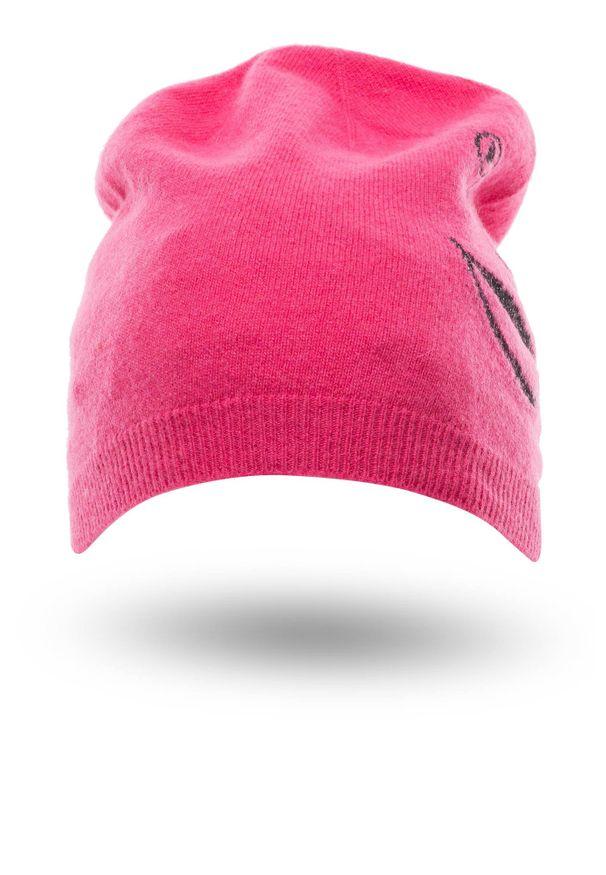Różowe nakrycie głowy Ice Play eleganckie