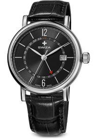 Zegarek Swiza damski ALZA GMT, SST (WAT.0142.1003)