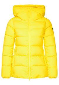 Hetrego - Hetregó Kurtka puchowa Beryl 8I690 20WD09 Żółty Regular Fit. Kolor: żółty. Materiał: puch