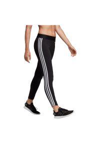 Adidas - Spodnie adidas Essentials 3-Stripes W DP2389. Materiał: bawełna, materiał, elastan. Wzór: paski