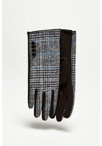 Rękawiczki MOODO w kratkę