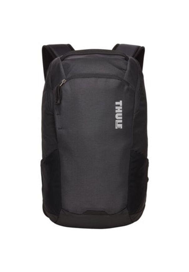 Czarny plecak na laptopa THULE elegancki