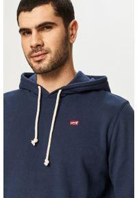Levi's® - Levi's - Bluza bawełniana. Okazja: na co dzień, na spotkanie biznesowe. Kolor: niebieski. Materiał: bawełna. Styl: biznesowy, casual
